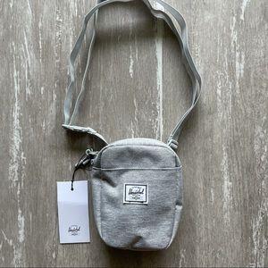 Herschel Cruz Bag - Light Grey Crosshatch